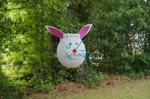 Papier Maché Rabbit Piñata