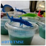 Ocean Castaway Slime Birthday Party Favor