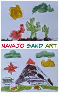 Native American Corn Husk Dolls and Navajo Sand Art
