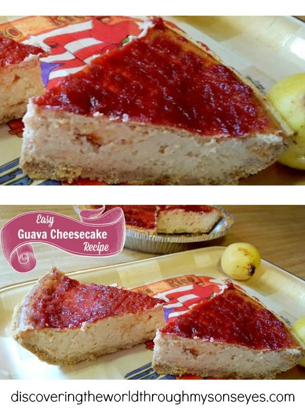 Easy Guava Cheesecake Recipe