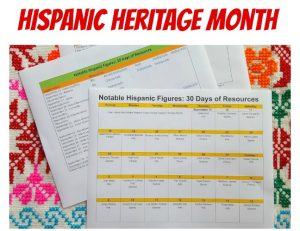 Notable Hispanic Figures: Thirty Days of Resources