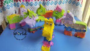 Mexican Culture: Mini Donkey Piñata Craft Activity