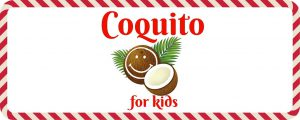 Coquito for Kids Recipe and Free Printable (Puerto Rican Eggnog)