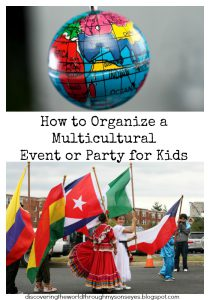 How to Organize a Multicultural Event or Party for Kids