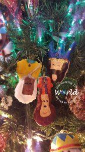 DIY Three Kings Ornaments