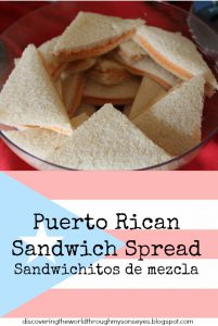 Puerto Rican Sandwich Spread (Sandwichitos de mezcla)