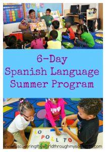 Spanish Language Summer Camp Program