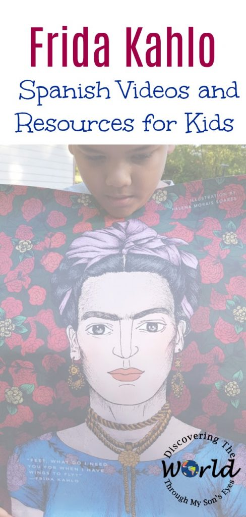 Frida Kahlo:  Spanish Videos and Resources for Kids