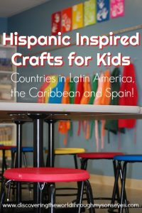 Hispanic Inspired Crafts for Kids