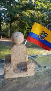 Q is for Quito's Middle of the World Monument Kids Craft