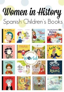 Women in History Spanish Children's Books