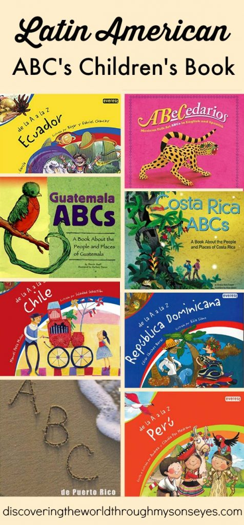 ABC's Children's Book from Latin America