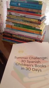 Summer Challenge: 30 Spanish Children's Books in 30 Days