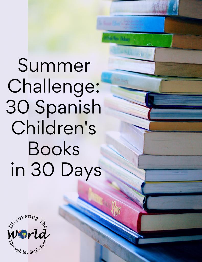 Summer Challenge: 30 Spanish Children's Books in 30 Days