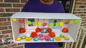 DIY Day of the Dead Shoebox Altar