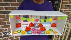 DIY Day of the Dead Shoebox Altar